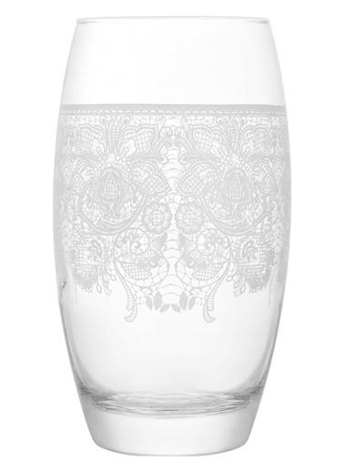 3'lü Tatlı Hatıralar Dantelli Meşrubat Bardağı-Lav